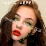 NEW ARRIVAL Magic Green Coloured Contacts-Magic-UNIQUELY-YOU-EYES