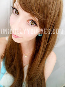 Shining Star Cosplay Big Eyes Brown Colored Contacts-Shining Star-UNIQUELY-YOU-EYES
