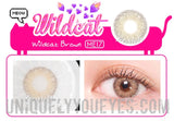 NEW WILDCAT Brown NATURAL COLORED CONTACTS