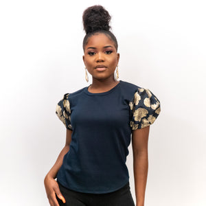 Oghene Jersey Fitted Top