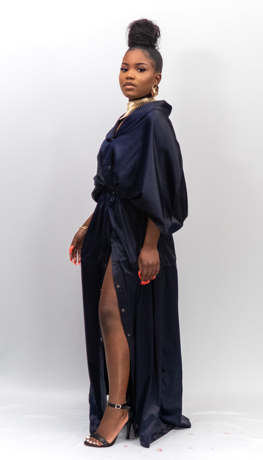 The Nana Cape Dress