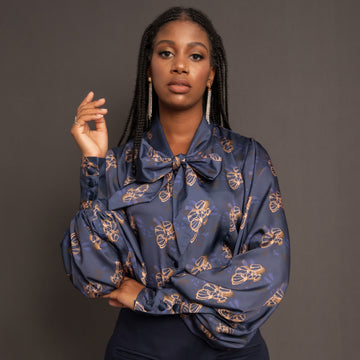The Ejiro Sateen Blouse