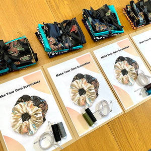 KIM DAVE SCRUNCHIES MAKING KIT