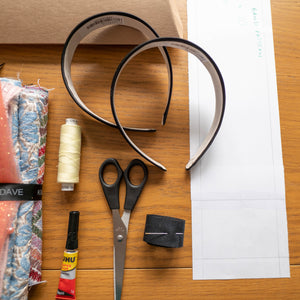 KIM DAVE HAIRBAND MAKING KIT