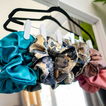 kim dave hair scrunchies