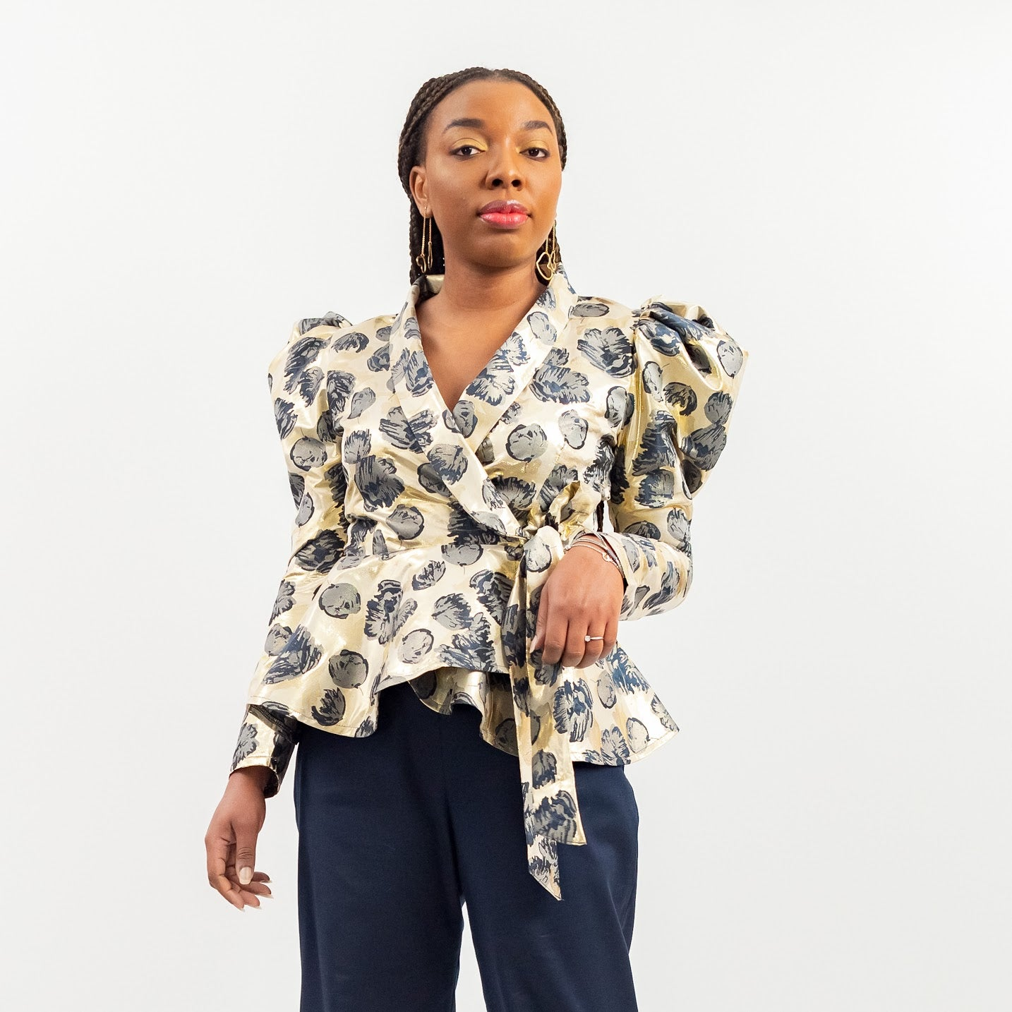 Ukodo Wrap Blouse