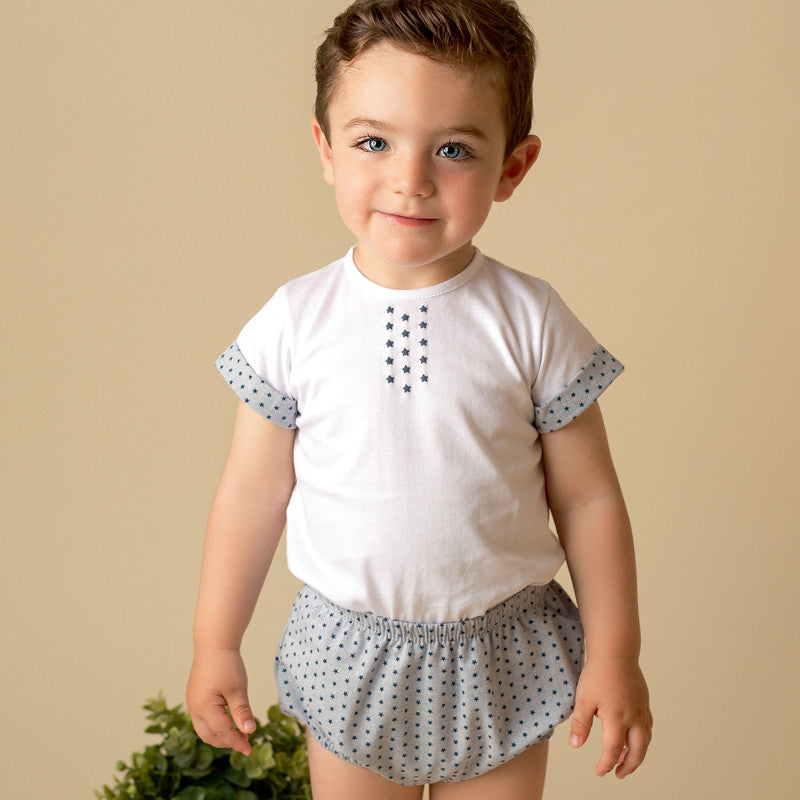 JULIANA BABY GIRLS//BOYS SPANISH 2 PIECES SET SUMMER OUTFITS