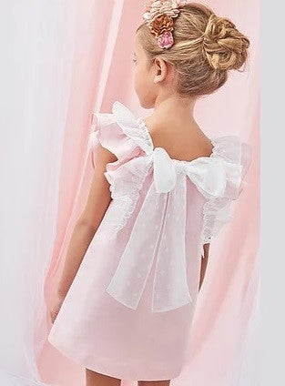Dadati Large Bow Back Dress - Arabella's Baby Boutique