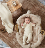 Granlei Cream Baby Knitted Set - Arabella's Baby Boutique