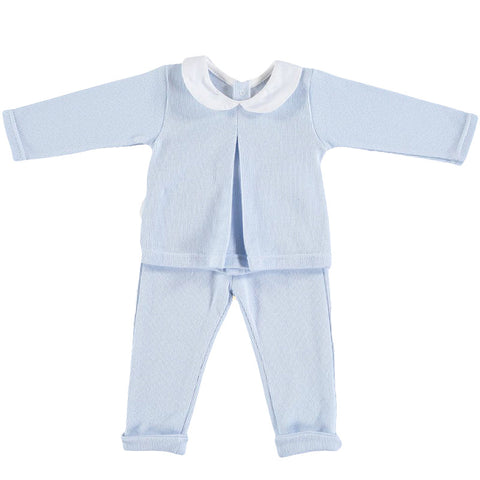 Babidu Tracksuit in Baby Blue - Arabella's Baby Boutique