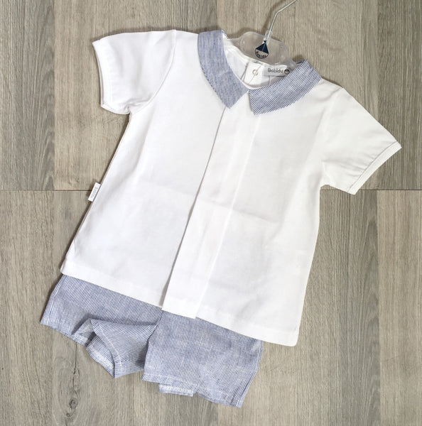 Short Sleeve Top & Shorts Set - Arabella's Baby Boutique