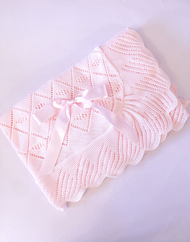 Pink Baby Blanket - Arabella's Baby Boutique