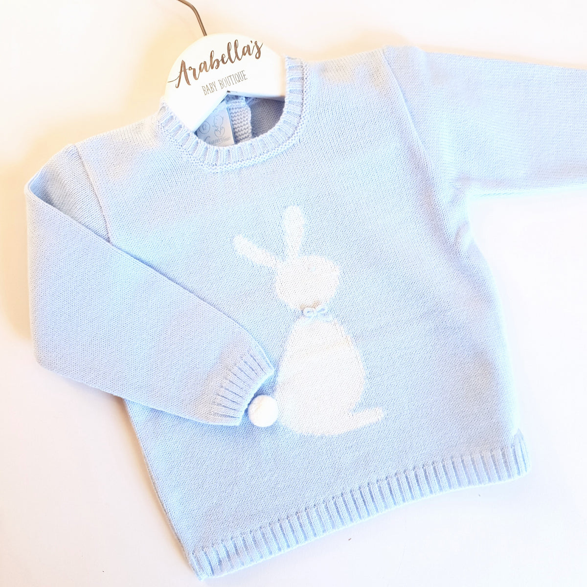 830facc8f Granlei Boys Knitted Bunny Jumper Arabellas Baby Boutique, Spanish Boys – Arabella's  Baby Boutique
