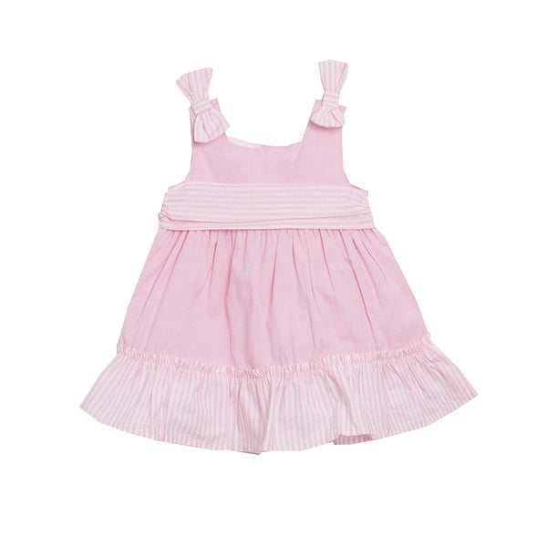'Amy' Baby dress in Pink - Arabella's Baby Boutique