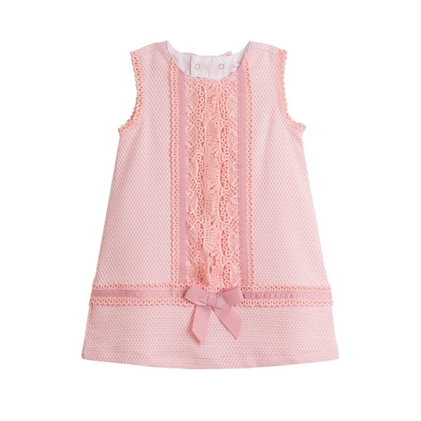'Jenny' Pink Girl's Dress - Arabella's Baby Boutique