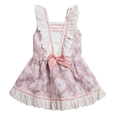 Newness Kids Pink Floral Dress - Arabella's Baby Boutique