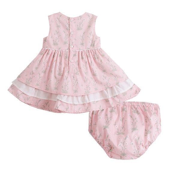 5d1f15b1e Alex  Baby Girl s Dress Set in Pink Floral by Newness