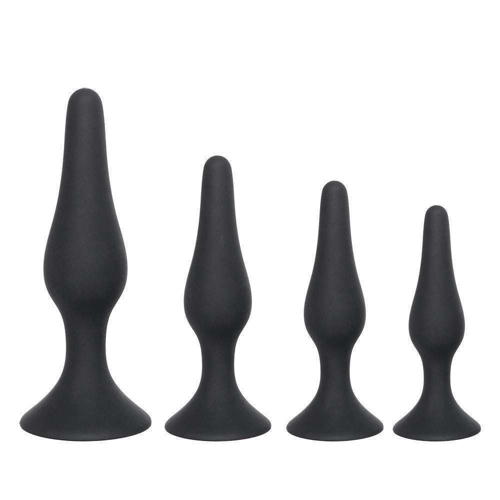 4 Sizes Available Silicone Prostate Massager plug
