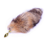 Jeweled Gold Princess Plug 3 Piece Set