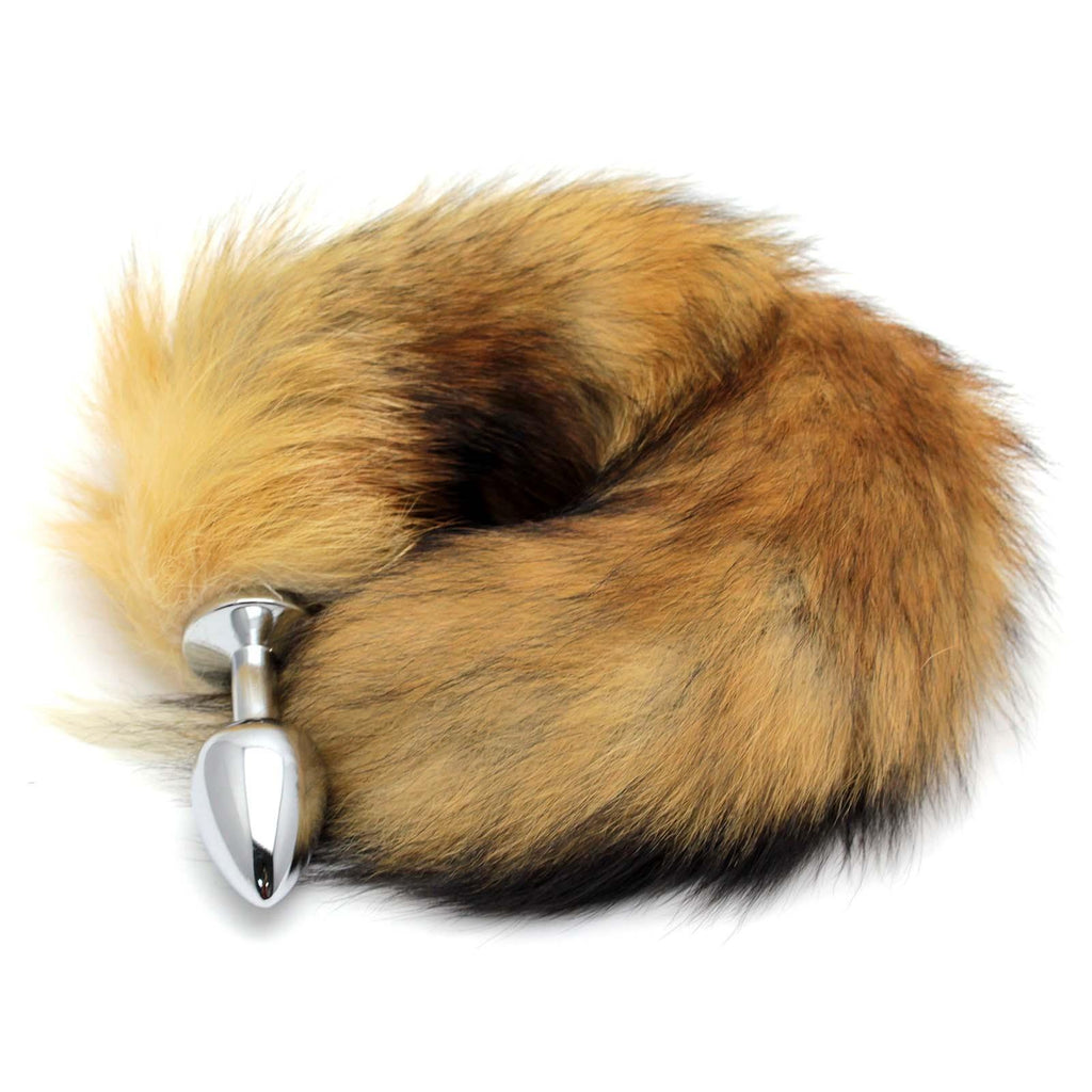 "13.7"" Brown Fox Tail"