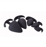 Black Silicone Plug Set