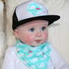 DRIBBLE BIB & TRUCKER CAP GIFT SETS