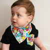 Little Monsters Dribble Bib - Chuckles & Caz