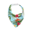 Blue Hawaiian Dribble Bib - Chuckles & Caz