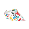 Coloured Blocks Dribble Bib - Chuckles & Caz