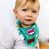 Comic Book Dribble Bib - Chuckles & Caz