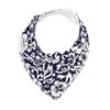 Dark Blue Hawaiian Dribble Bib - Chuckles & Caz