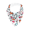 Graffiti Heart Dribble Bib - Chuckles & Caz
