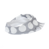 Grey Spot Dribble Bib - Chuckles & Caz