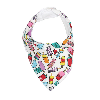Ice Block Dribble Bib - Chuckles & Caz