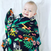 Jungle Muslin Swaddle - Chuckles & Caz