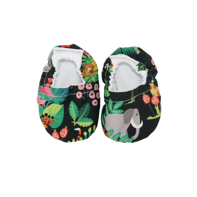 Jungle Baby Booties - Chuckles & Caz