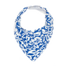 Light Blue Hawaiian Dribble Bib - Chuckles & Caz