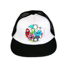 Little Monsters Flat Brim Trucker Cap - Chuckles & Caz