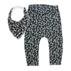 Mono Skullz Leggings & matching Dribble Bib - Gift Set - Chuckles & Caz
