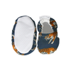 Navy Tigers Dribble Bib & Baby Booties - Gift Set - Chuckles & Caz