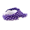 Purple Stars Dribble Bib - Chuckles & Caz