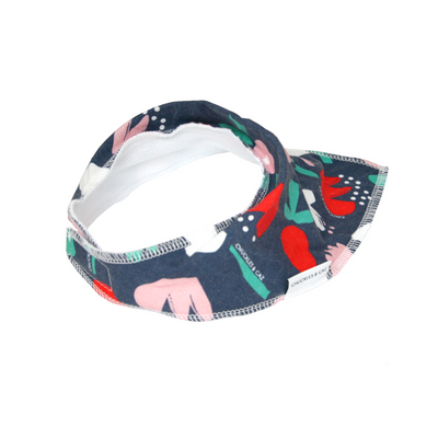 Simple Floral Dribble Bib - Chuckles & Caz