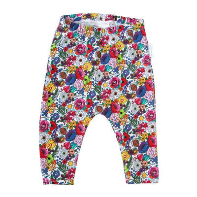 Super Floral Leggings - Chuckles & Caz