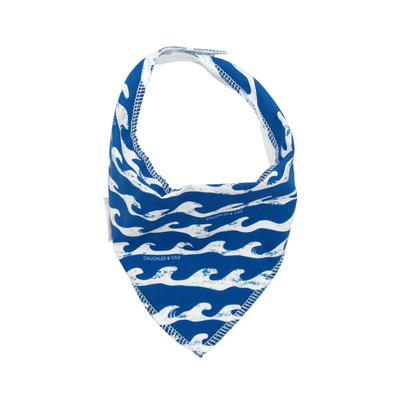 Surf's Up Dribble Bib - Chuckles & Caz