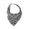 Tribal Geometric Dribble Bib & Baby Booties - Gift Set - Chuckles & Caz