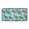 Tropical Palm / Black Neoprene Changing Mat - Chuckles & Caz