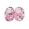 Unicorn Baby Booties & matching Dribble Bib - Gift Set - Chuckles & Caz