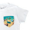 Manly Beach Print Pocket Tee - Chuckles & Caz