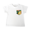 Yellow Hawaiian Print Pocket Tee - Chuckles & Caz