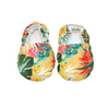 Yellow Hawaiian Baby Booties - Chuckles & Caz